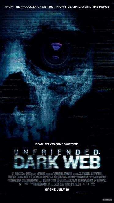 Unfriended Dark Web review, Movie review, Thriller review, Horror review, Suspense review