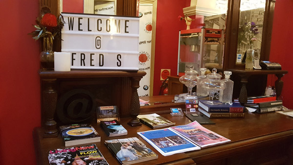 upstairs at freds, cafe, breakfast, lunch, dinner, camden