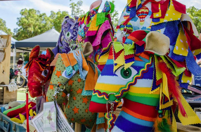 Variety of handcrafted products