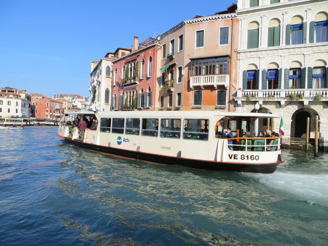 water, taxi, canal, venice