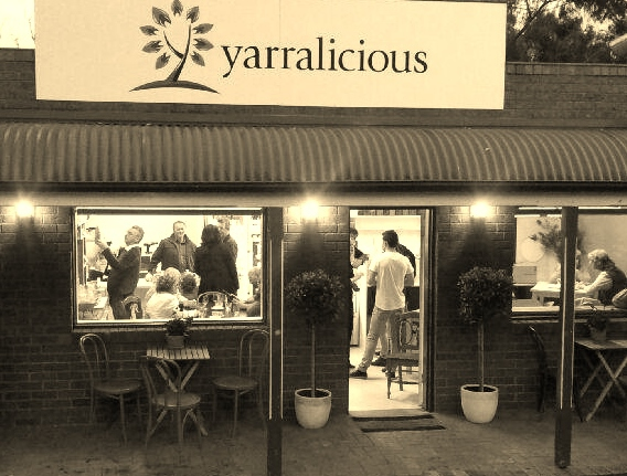 yarralicious gluten free warrandyte cake biscuit coffee lunch local produce handmade Maja Taylor