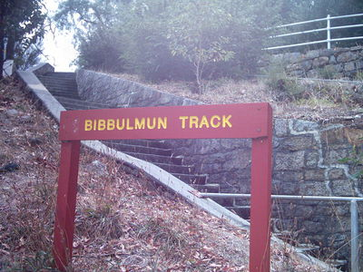 Bibbulmun Track at Mundaring Weir. Photograph is by Gnangarra at commons.wikimedia.org