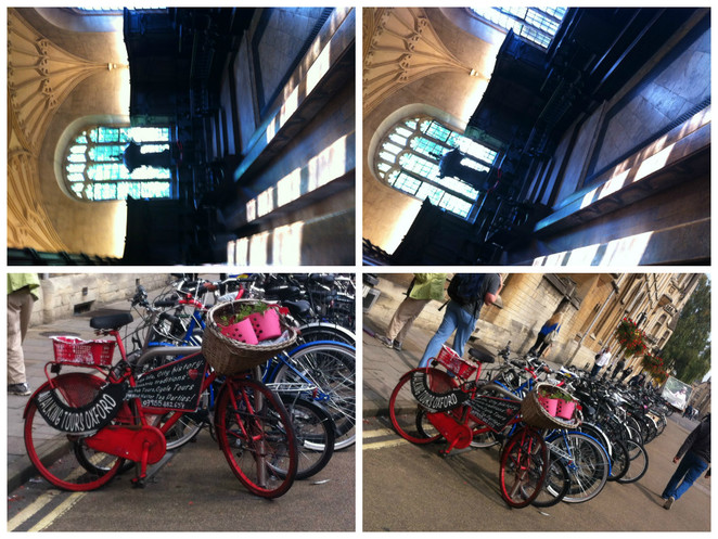 angles, convocation, hall, bikes, oxford