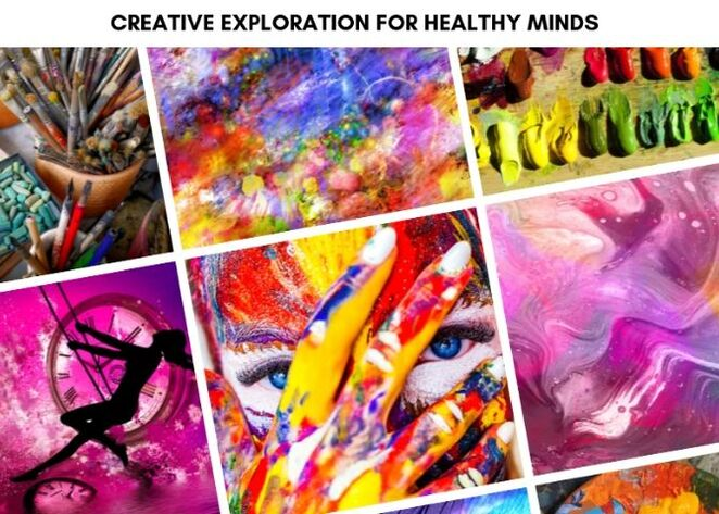 art, art classes, mentally healthy, creative
