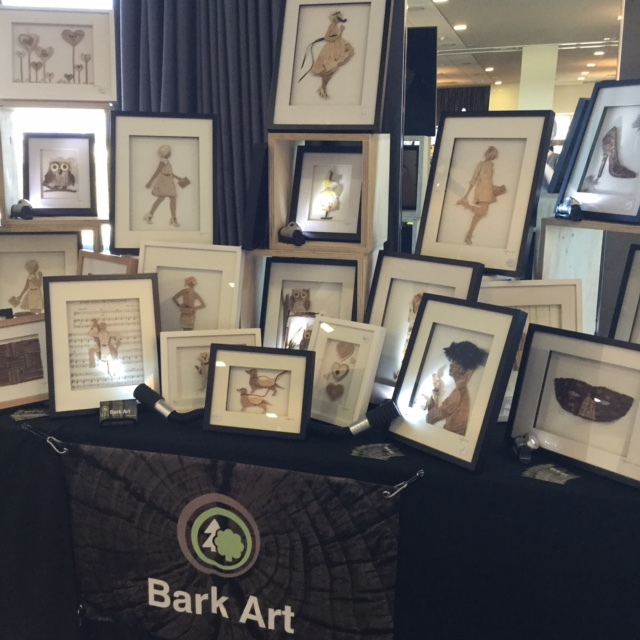 Bark Art at The Creators Market