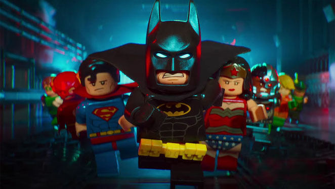batman, lego, movie, review