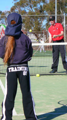 canberra tennis academy, canberra, july school holidays, ACT, july, winter,