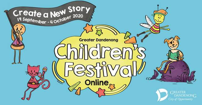 childrens festival 2020, big day in 2020, city of greater dandenong, the massive pyjama disco party, performances, activities, dancing, online children's festival in dandenong, community event, family, fun things to do, fun for kids, online kids programs, latin dance workshop, polyglot theatre, my shadow self, hustle dance crew k pop dance workshop, fuzztoon studio's cartooning workshop, the dreaming space's two weeks circus school, paper and tape escape by polyglot theatre, native wildlife zoom workshop