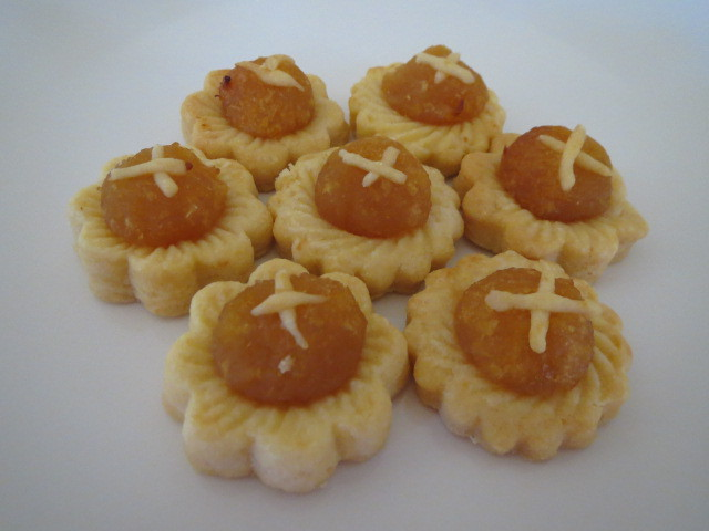 Chinese New Year Cookies, Pineapple Tarts