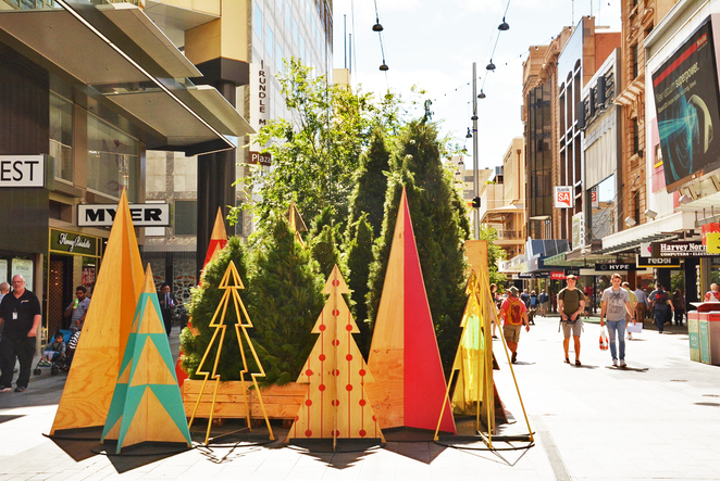 christmas, adelaide christmas, rundle mall christmas, christmas decorations, rundle mall christmas decorations
