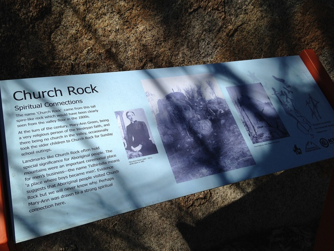 church rock, church rock heritage loop, canberra, tidbinbilla, history, early settler hsitory, walks, ACT, bushwalks, national parks, short walks,