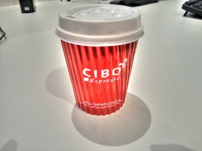 Cibo's coffee is a great way to warm up this winter.
