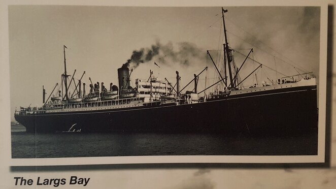 Commonwealth Steamship Largs Bay,Queensland Maritime Museum Brisbane Southbank