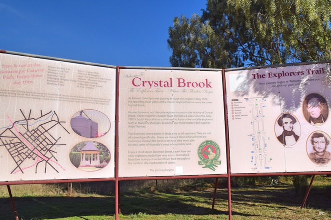 Crystal Brook Magical History Tour, Historic Homes of Crystal Brook, Beetaloo Reservoir, Bowmans Park, Kusch Bakery, Crystal Brook, Heysen Trail