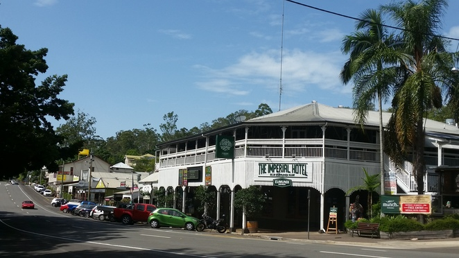 Eumundi, local pub, small town