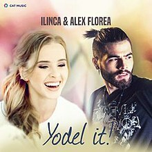 eurovision, yodel it, poster