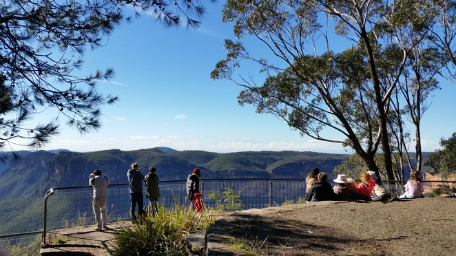 evans lookout, grose valley, blue mountains, lookouts