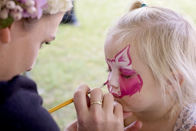 free,face,painting