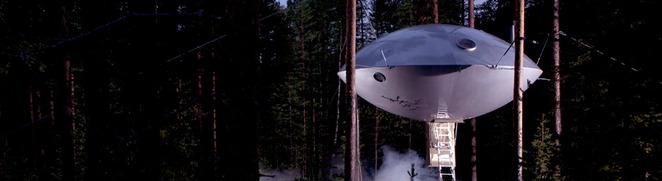 glamping, camping, luxury camping, ufo, sweden
