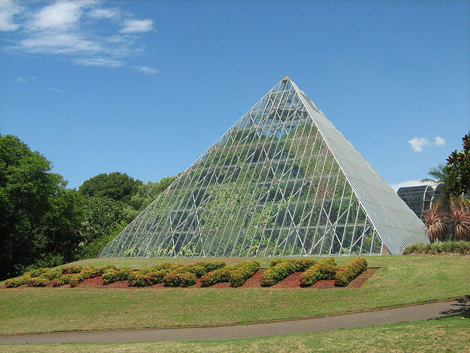 Pyramid Glasshouse @ The Royal Botanical Garden