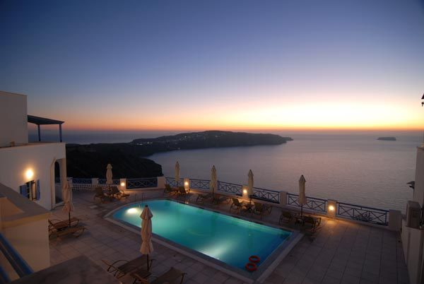 Best Views in Santorini Grand View Hotel
