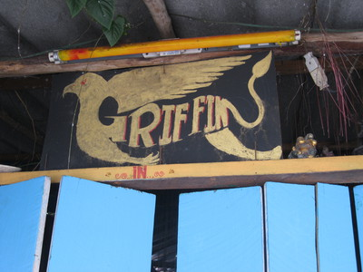 Griffin bar, Chiang Mai