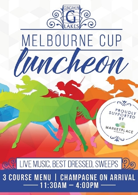 gungahlin lakes clun, melbourne cup lunch, 2017, canberra, ACT, sweeps, races, horse racing,