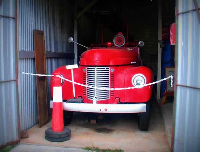 History, Mt Morgan, Museums, Old Fire Engine