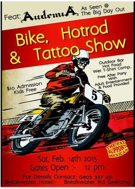 Breakwater Hotel Bike, Hot Rod and Tattoo Show