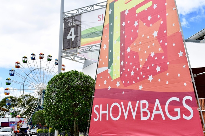 Showbag Pavillion, Sydney Royal Easter Show.