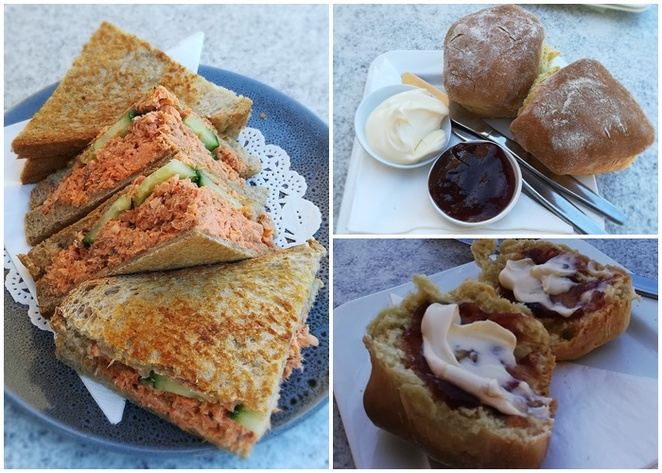 inner light tearooms, shoal bay, nelson bay, NSW, port stephens, cafes, breakfast, lunch, scones, cafes with views, whale watching, nelson head lighthouse, cottage, rescue, lookouts, scones, toasted sandwiches, red salmon and cucumber,