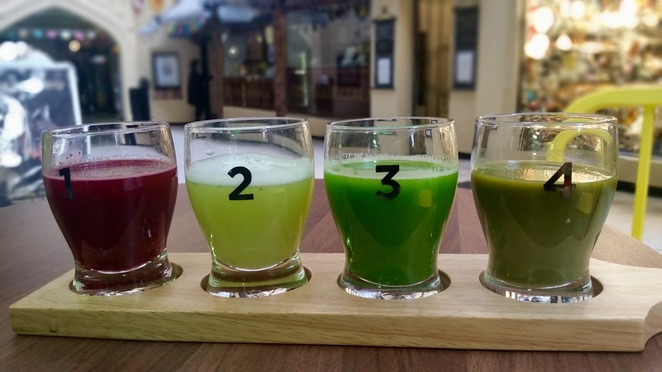 Juice Station, healthy, vegan, juice, Perth City pitstops