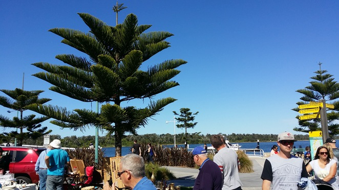lakes entrance foreshore