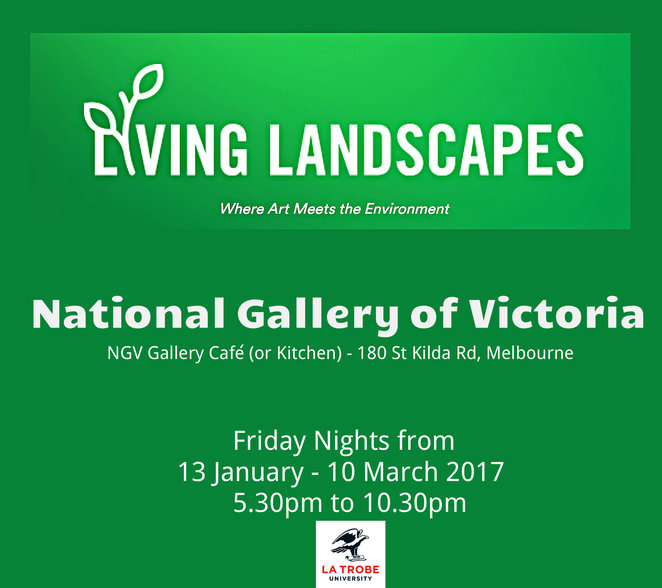 living landscapes, ngv, national gallery of victoria, la trobe university, virtual technology, green, ngv, virtual forest, hand drawn digital trees, real life, forest, wildlife sanctuary, digital plant, bundoora research facility, david hockney exhibition, university project, community event, art, art exhibition, fun things to do