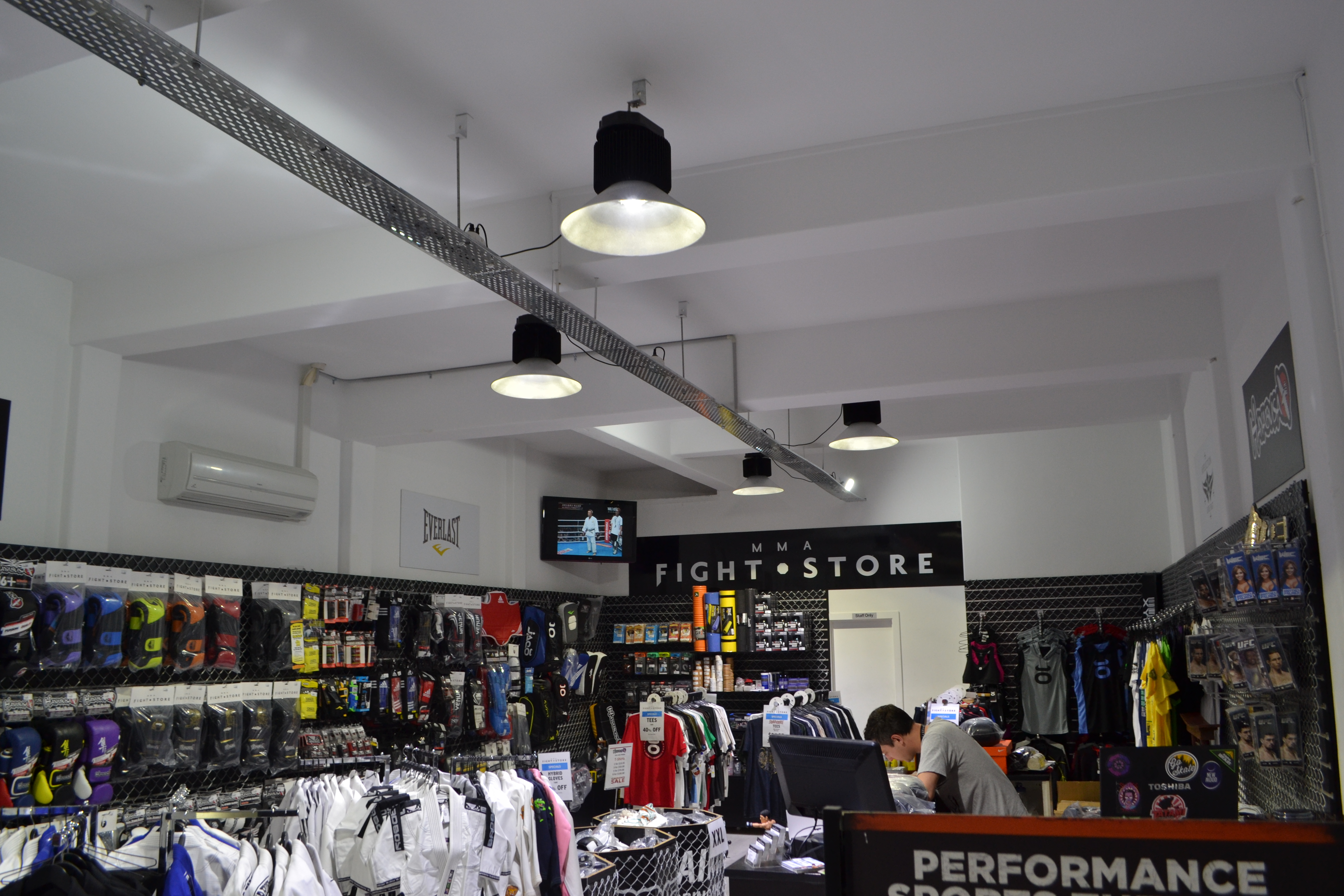 Mma clothing store. Clothing stores