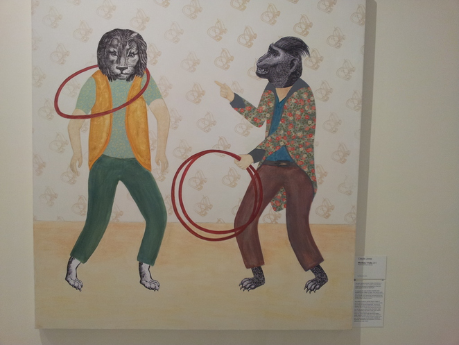 monkey tricks,animal fanfair,pine rivers gallery, exhibition