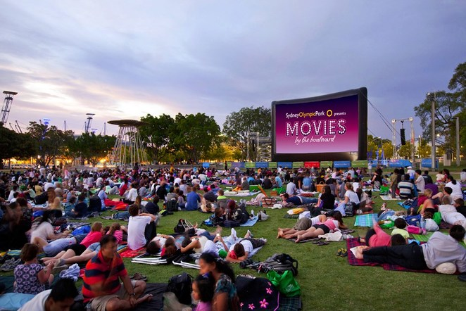 Movies by the Boulevard, Sydney Olympic Park
