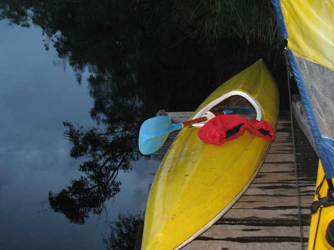 My old kayak