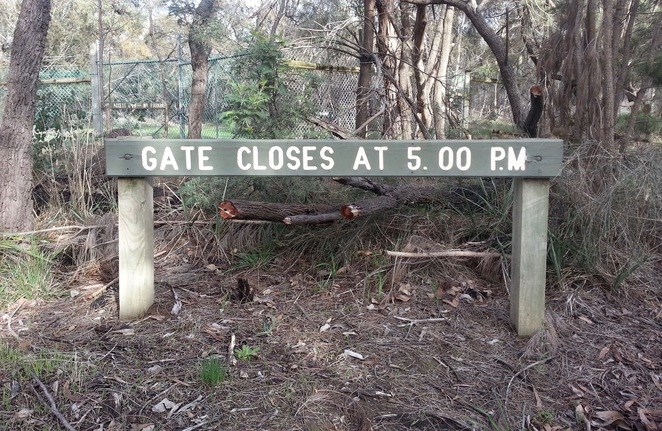 Ocean Grove Nature Reserve, Gate