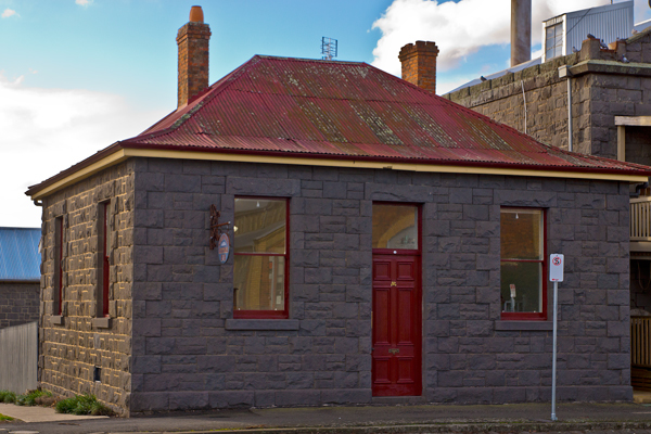 oldest, building, kyneton, cottage, anglican rectory, historic, bluestone, heritage,