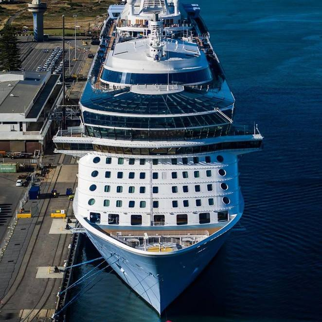 Ovation of the Seas, Royal Caribbean International, quantum class, Cruise ship, perth, Hobart, singapore, Adelaide, Sydney, fremantle, lady Ruthven reserve, north haven