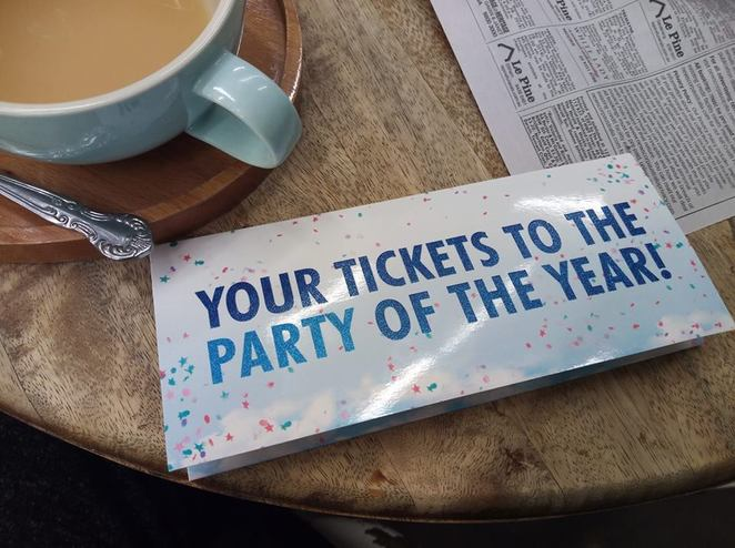 Party of the year: Mamma Mia! The Musical