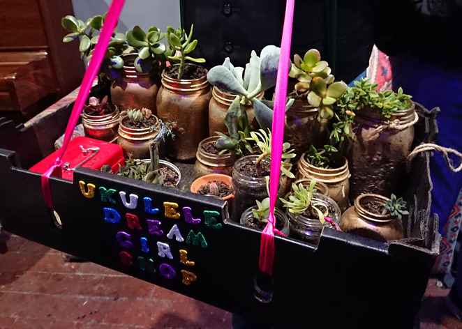 plant sale who is the ukulele dream girl bakehouse theatre phi theodoros