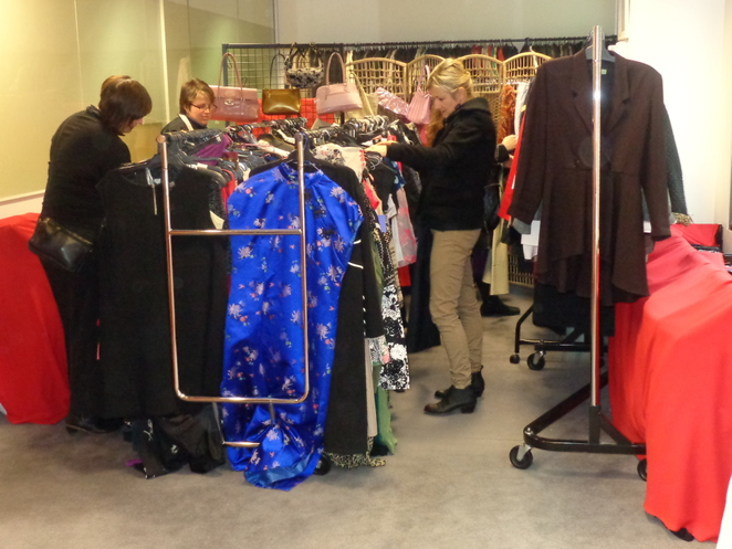 pre-loved clothing sale, fitted for work, bargains