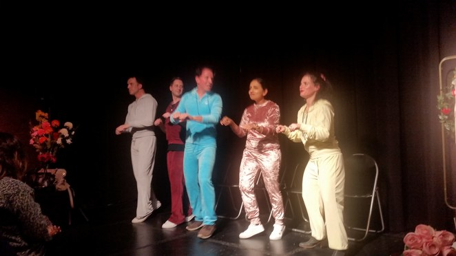 Real Improvisers Melbourne, International Comedy Festival, Club Voltaire, North Melbourne, Real Housewives, television