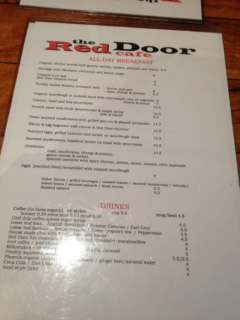Red Door Cafe Menu Womenofpowerfo