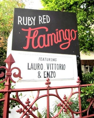 Ruby Red Flamingo