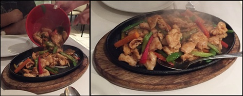 Sizzling,Mongolian,chicken