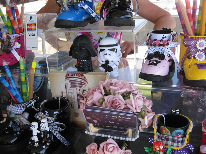 Star Wars Day Library Toowoomba Stall toys