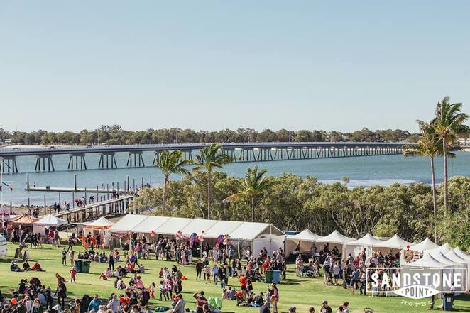 Strawberry Festival 2018, Sandstone Point Hotel, fourth annual, Moreton Bay Region, Strawberry Patch Bar, strawberry stalls, strawberry milkshakes, strawberry ice-cream and gelato, jam stands, kids rides, live music, Paw Patrol, fireworks display, Quest Community News, parking available, jetty closed